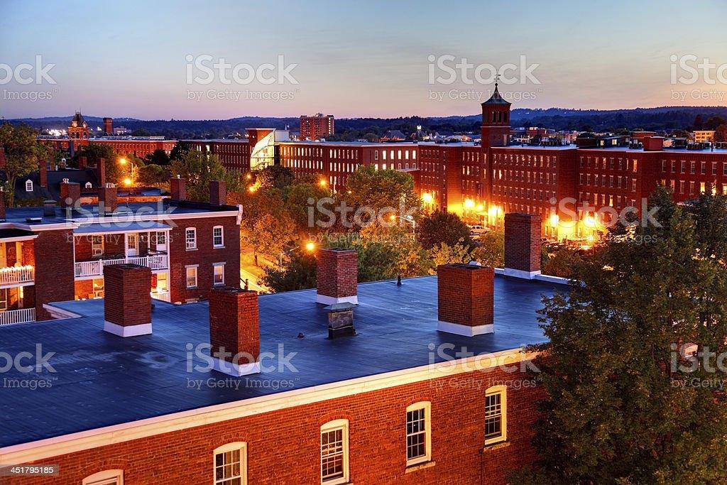 Manchester, New Hampshire stock photo