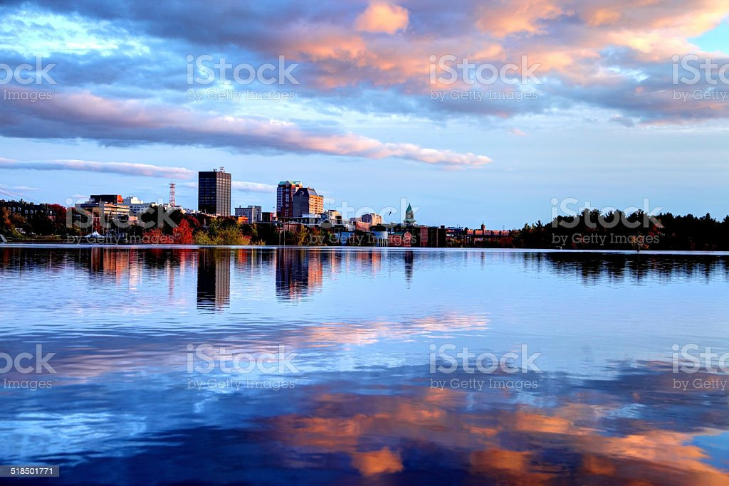 Manchester, New Hampshire stock photo