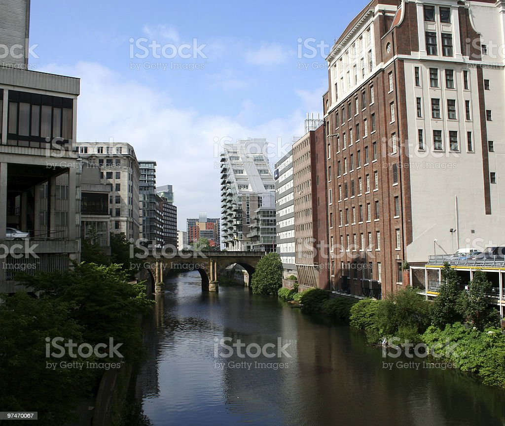 Manchester. royalty-free stock photo