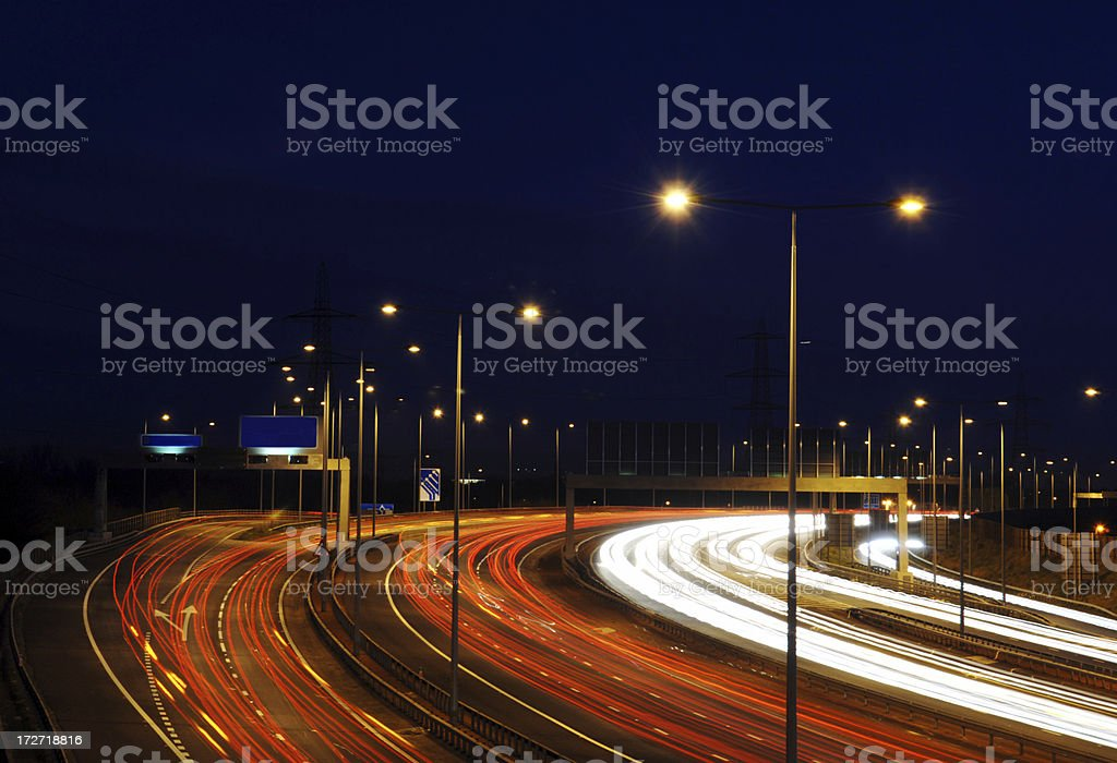 Manchester Rush Hour royalty-free stock photo