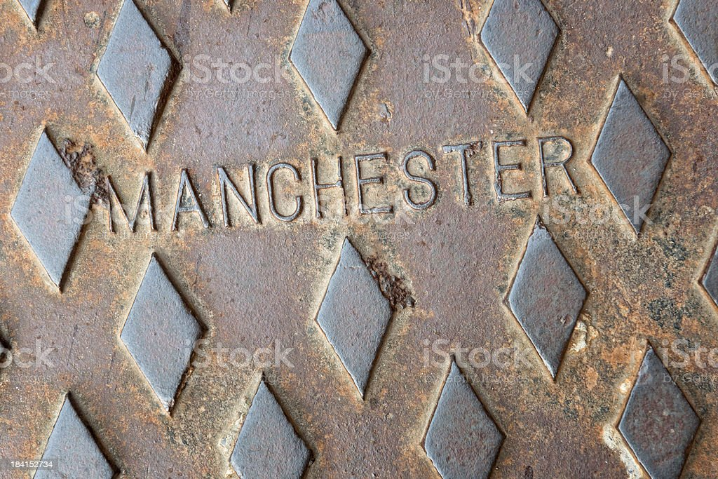 Manchester Tough stock photo