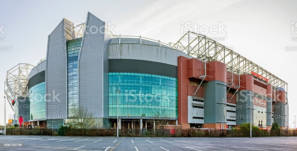 Manchester United Football Club stock photo