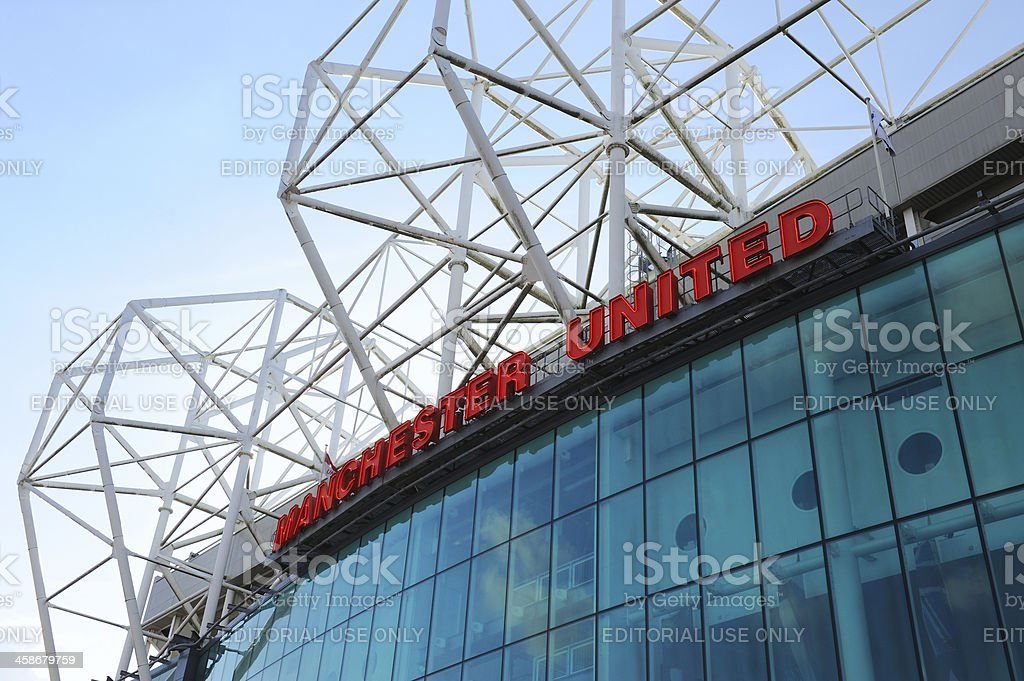 Manchester United - Old Trafford stock photo