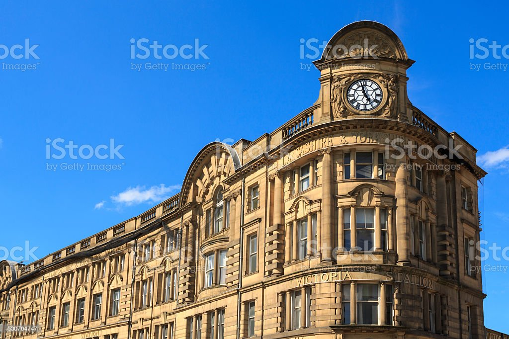 Manchester Victoria Railway Station royalty-free stock photo