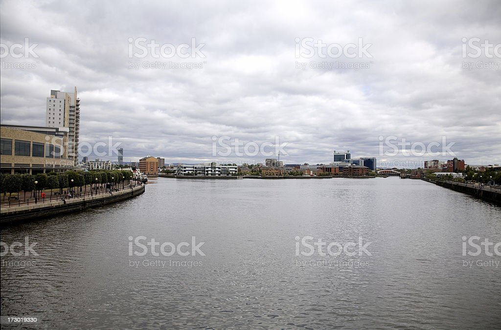 Manchester Waterfront stock photo