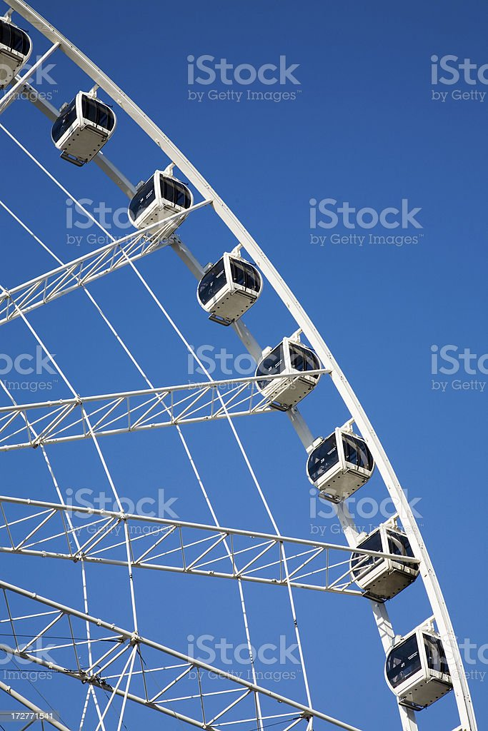 Manchester Wheel royalty-free stock photo