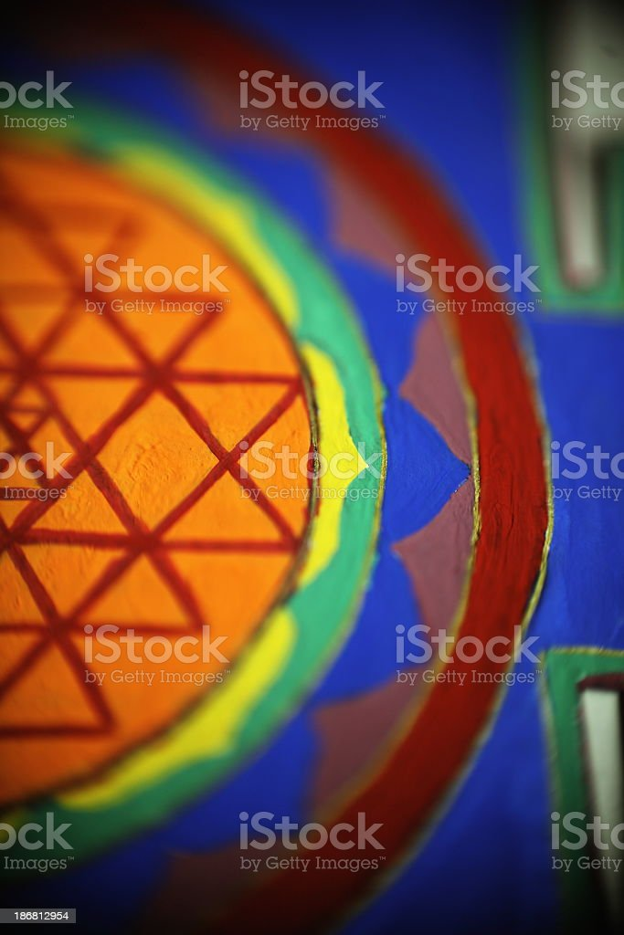 Mandala royalty-free stock photo