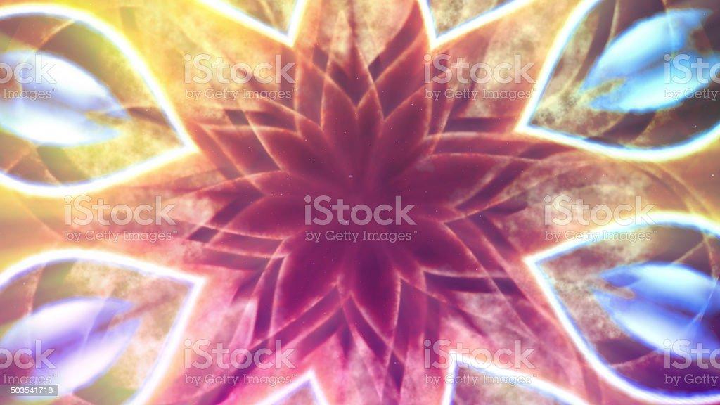 mandala power energy soul stock photo