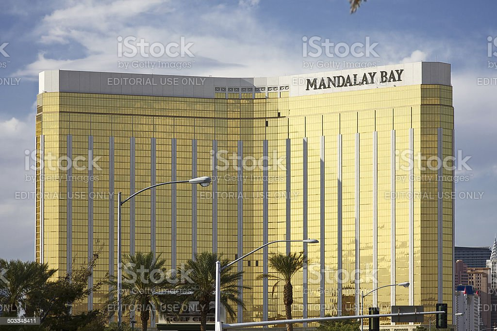 Mandalay Bay Hotel and Casino on the Strip royalty-free stock photo