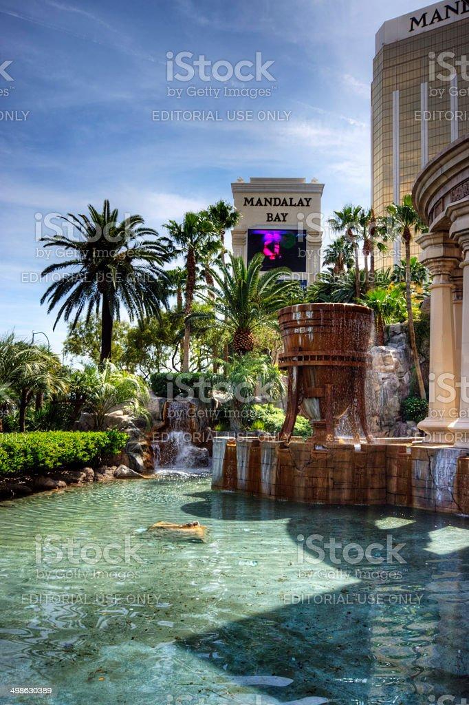 Mandalay Bay Hotel stock photo