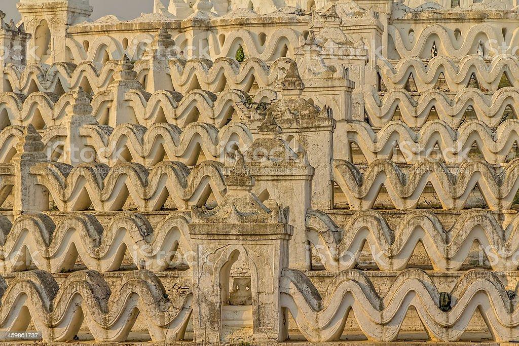Mandalay - Mingun royalty-free stock photo