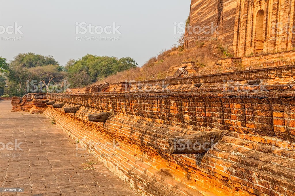 Mandalay - Mingun royalty-free stock photo