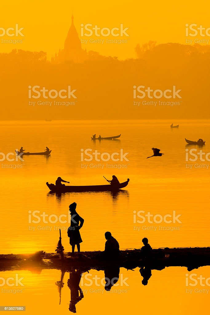 Mandalay, Myanmar stock photo