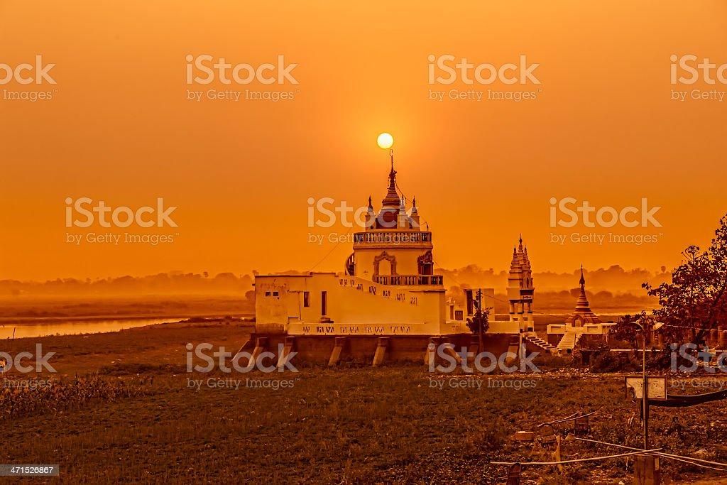 Mandalay royalty-free stock photo