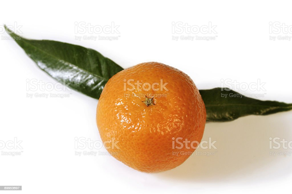 Mandarin 01 royalty-free stock photo