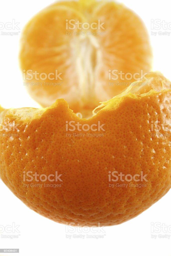 Mandarin 3 stock photo