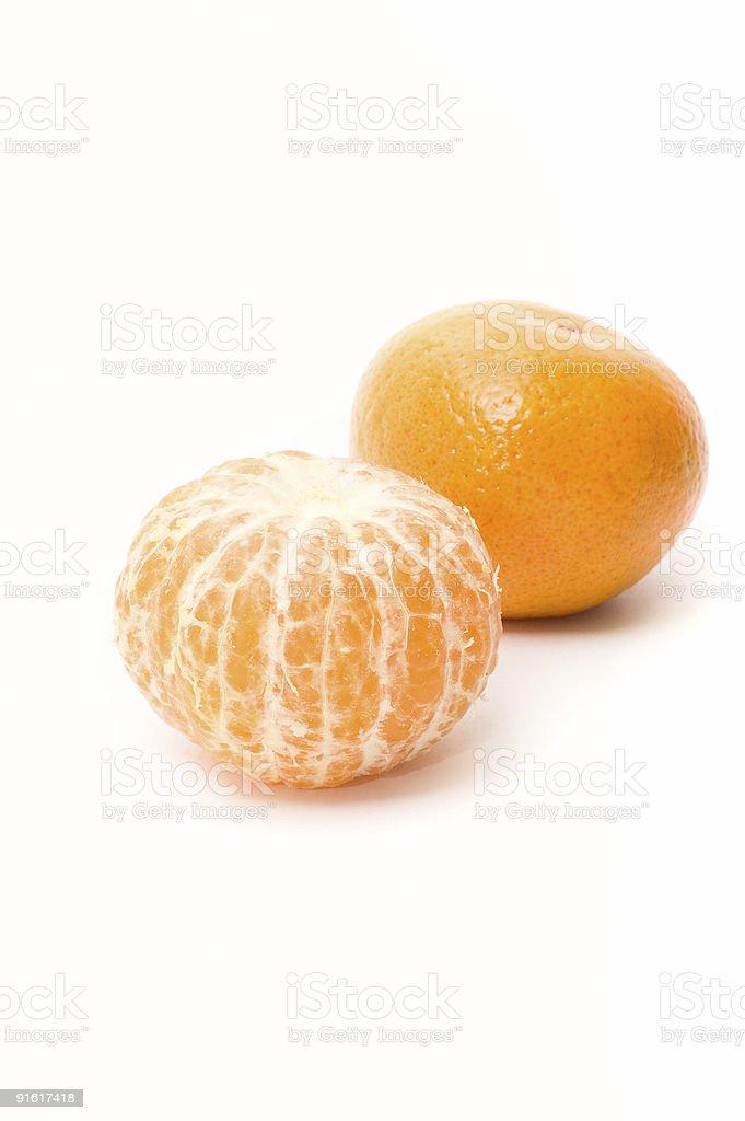 Mandarin fruits frais photo libre de droits