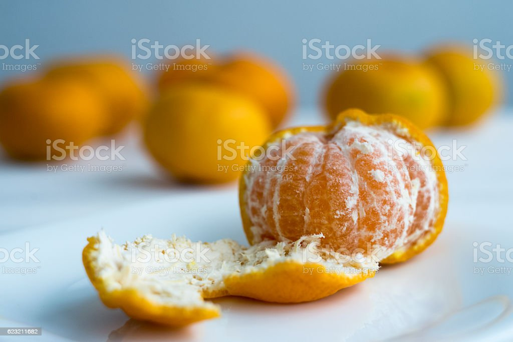 Mandarin stock photo