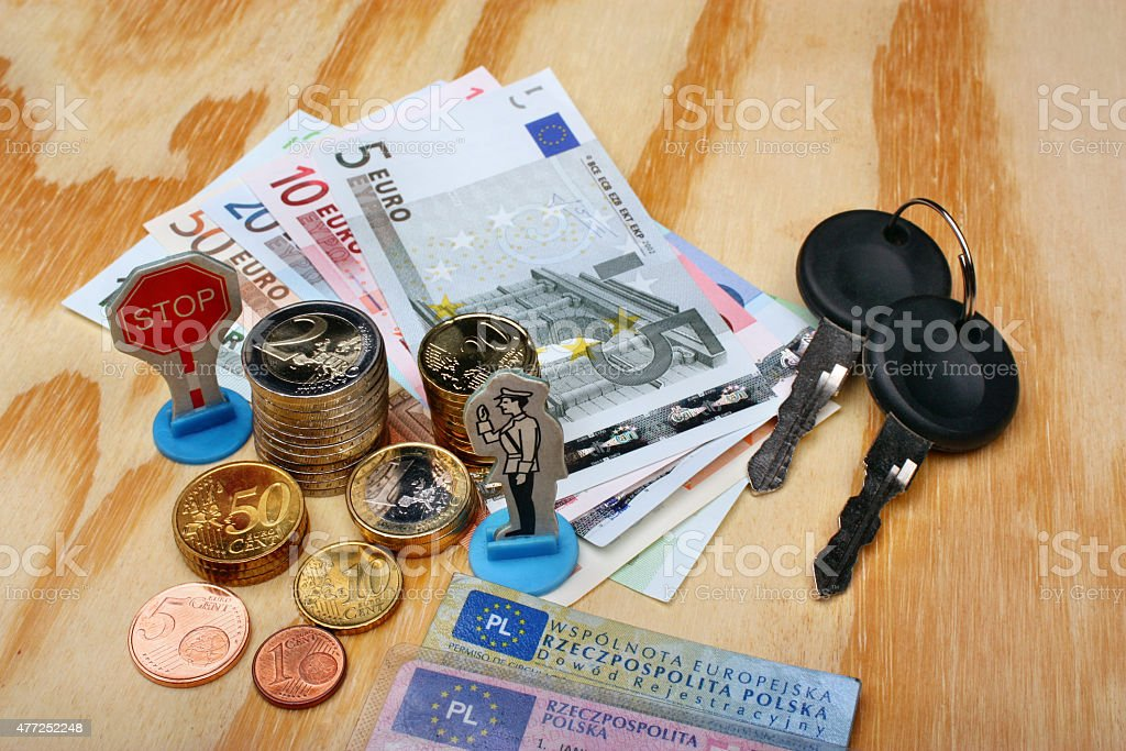 Mandate in Europe stock photo