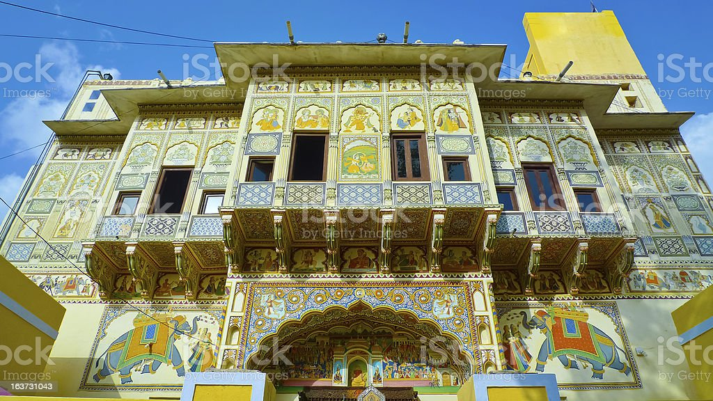 Mandawa Haveli royalty-free stock photo