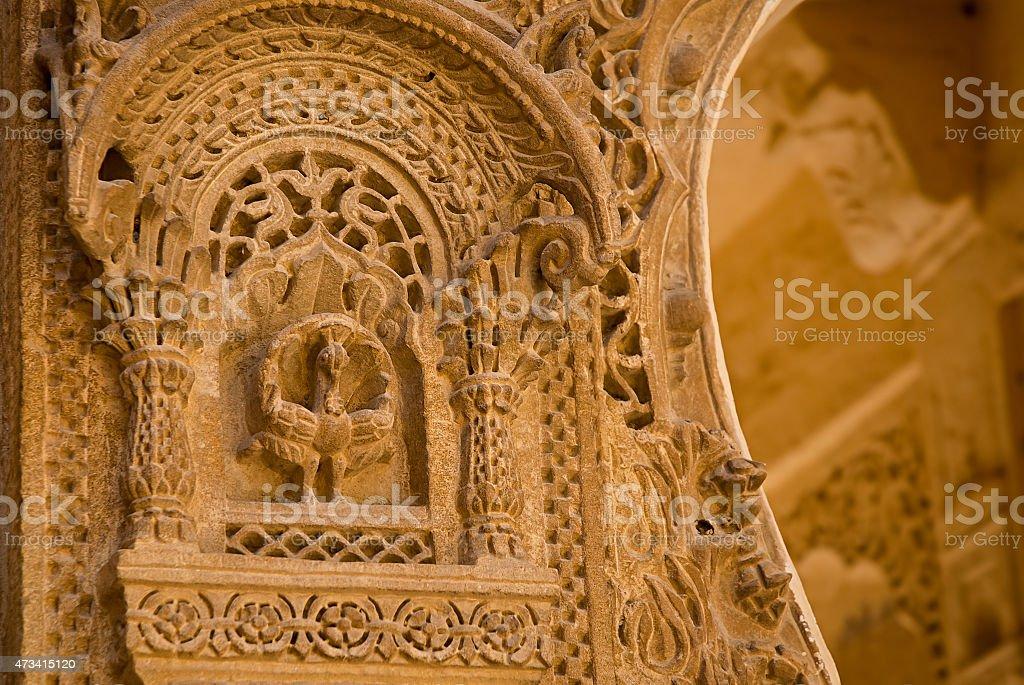 Mandir Palace à Jaisalmer, Rajasthan, Inde. photo libre de droits