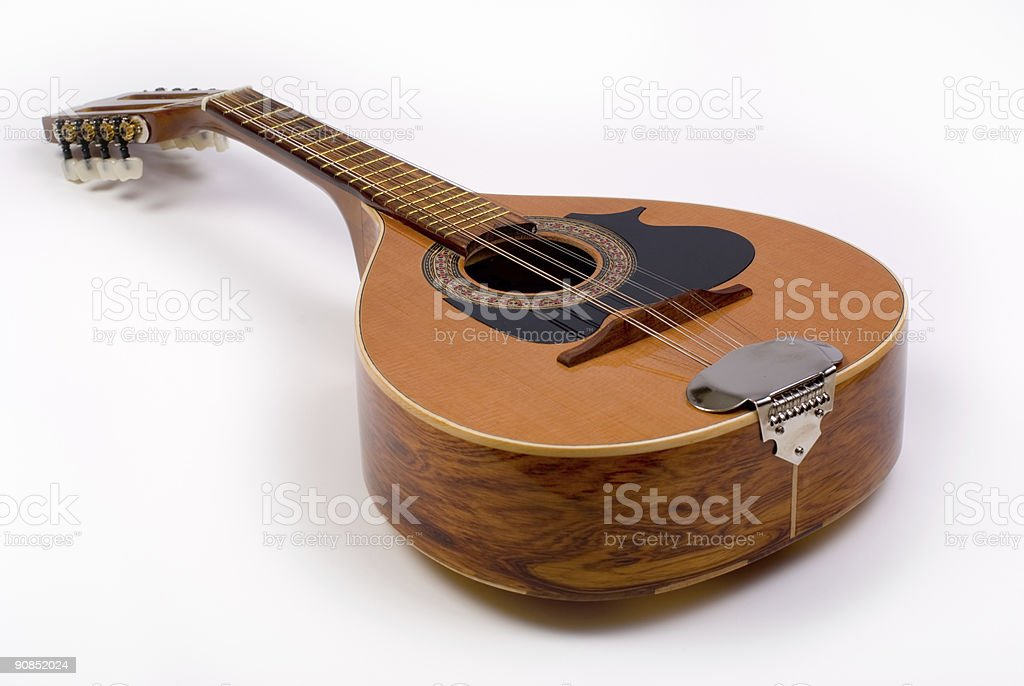 Mandolin 1 stock photo