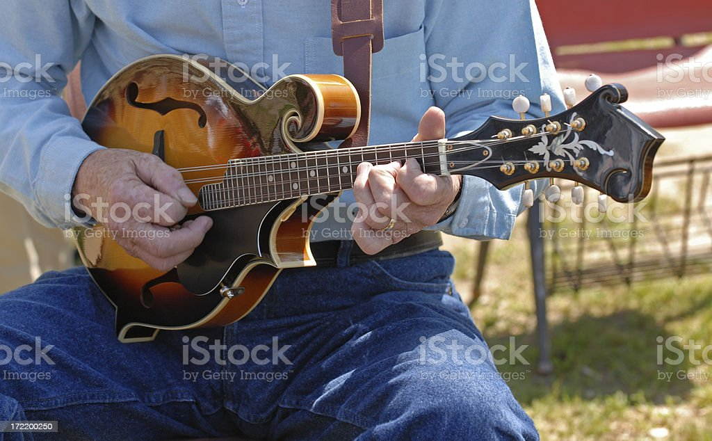 Mandolin Bluegrass stock photo