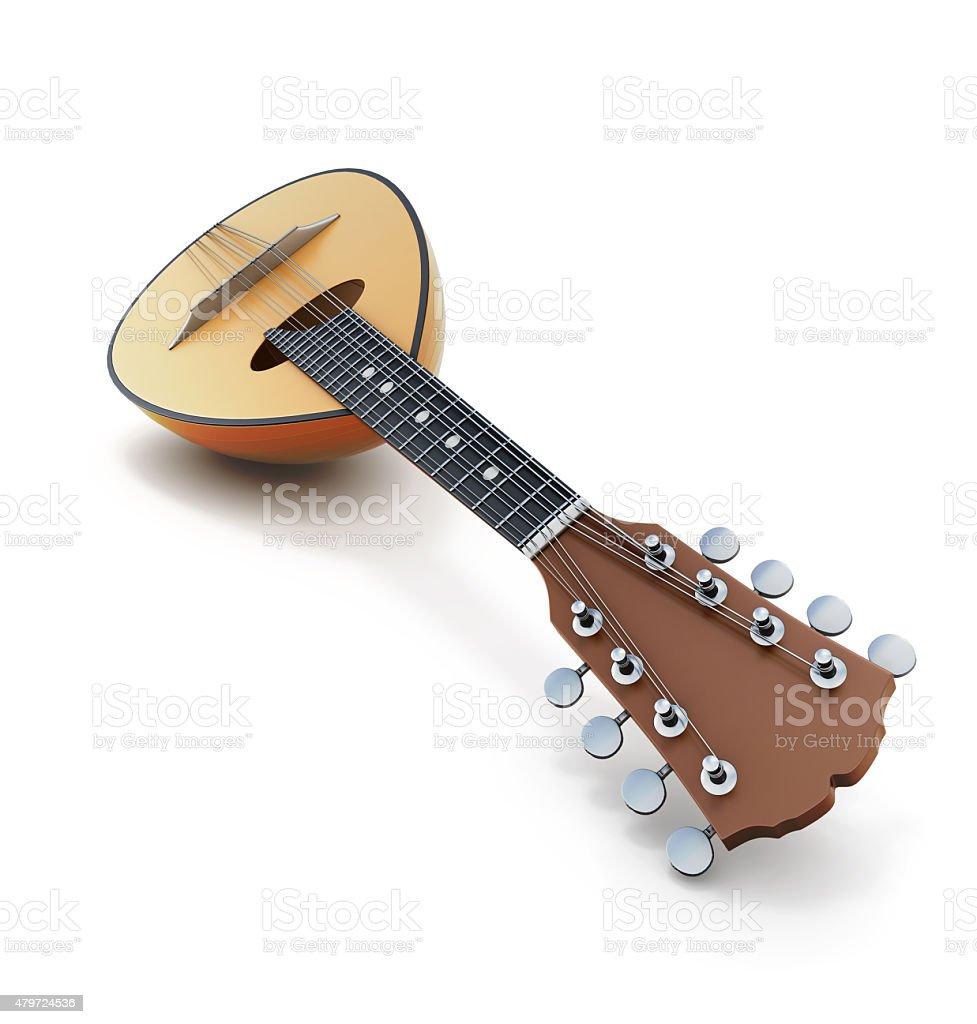 Mandolin close-up stock photo
