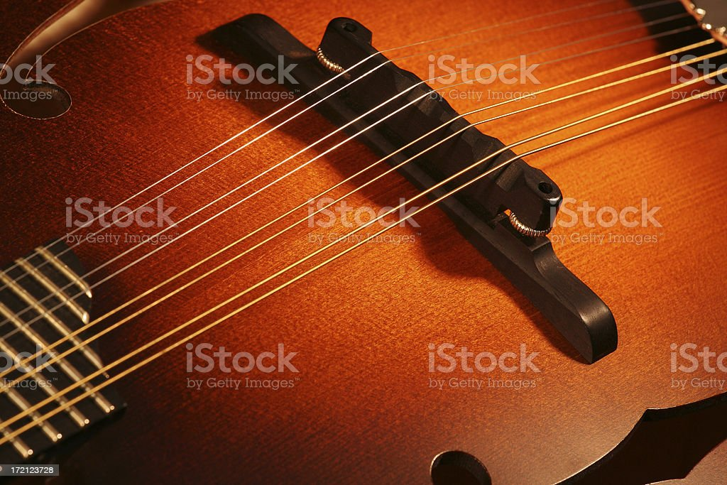 Mandolin Top stock photo