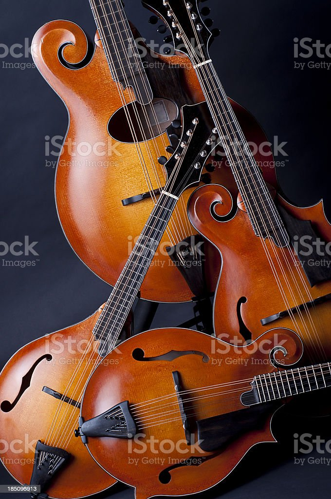 Mandolins stock photo