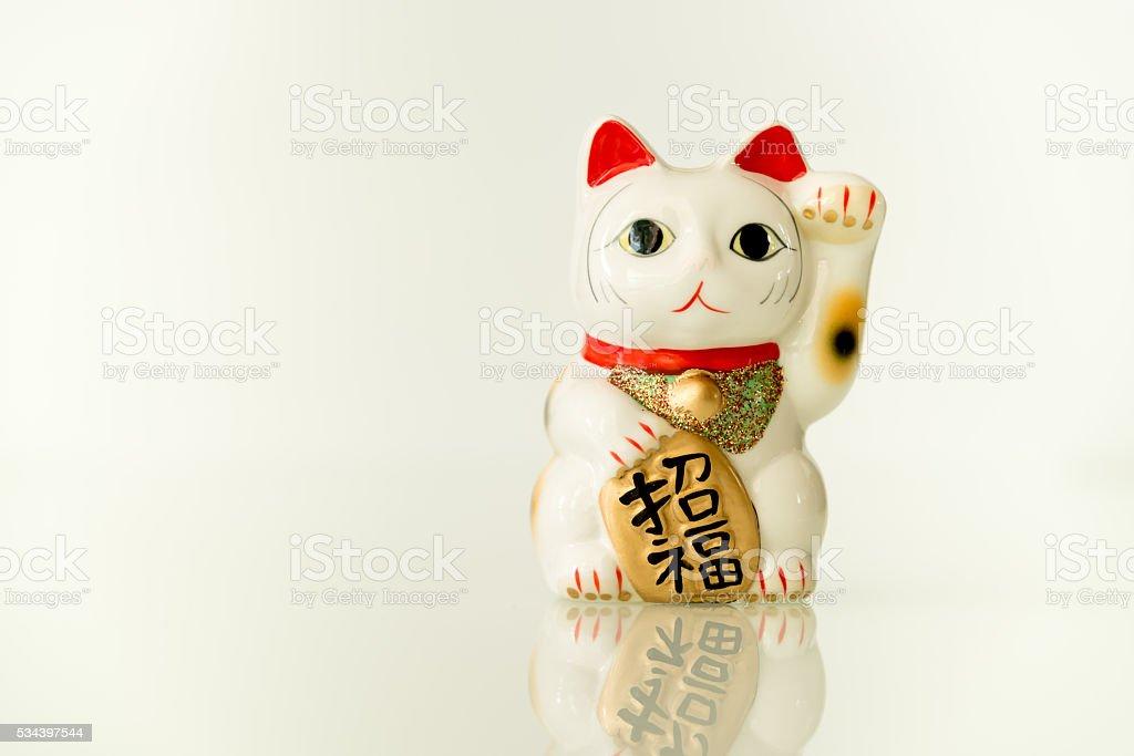 Maneki Neko - Luckly Cat stock photo