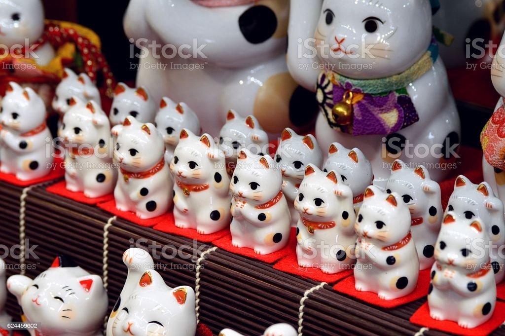Maneki Neko stock photo
