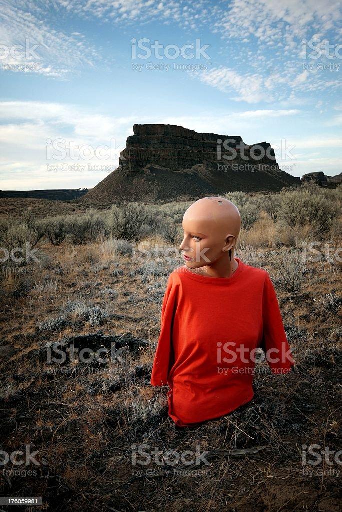 Manequin Mesa stock photo
