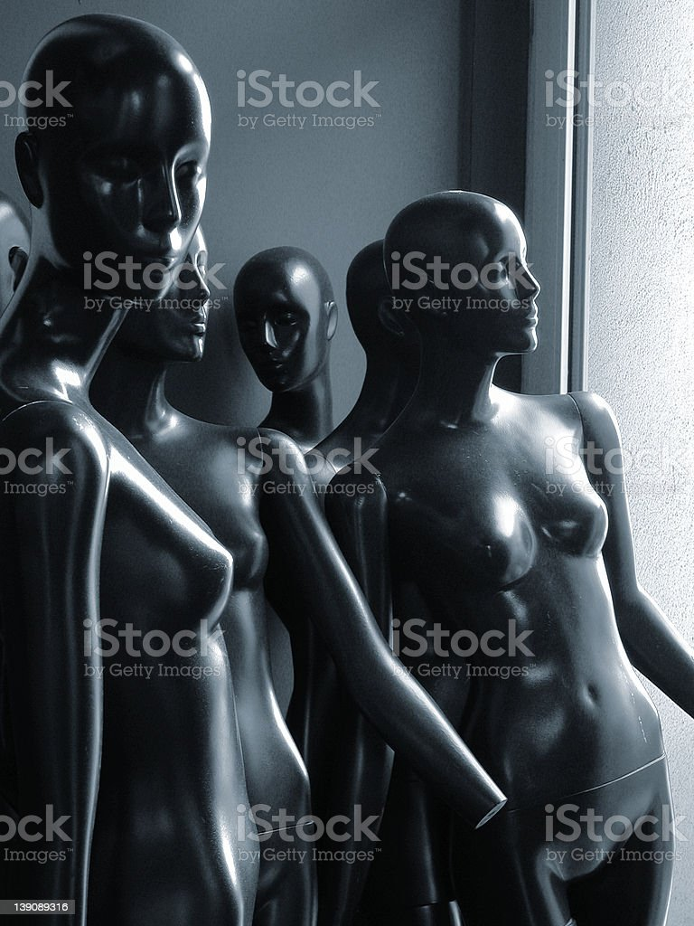Manequin royalty-free stock photo