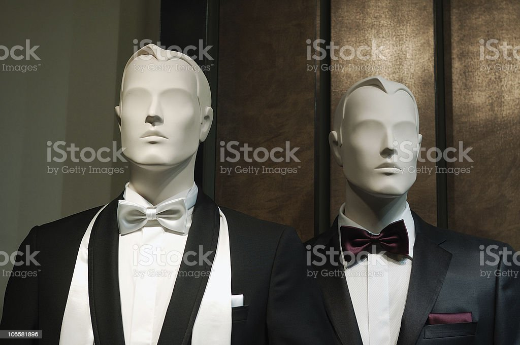 Manequins male royalty-free stock photo