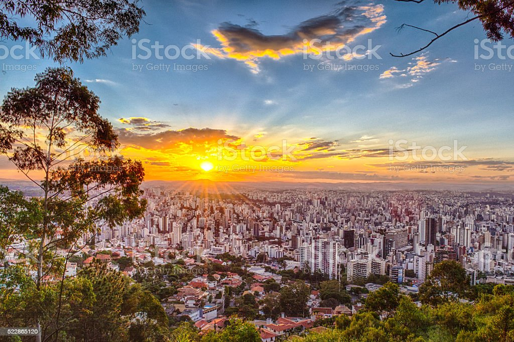 Mirante Mangabeiras - Belo Horizonte stock photo