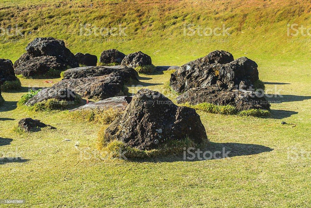 Mangabeiras Rock royalty-free stock photo