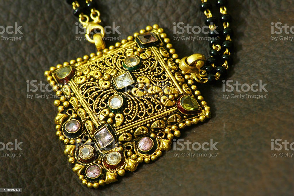 Mangal Sutra - Pendant royalty-free stock photo