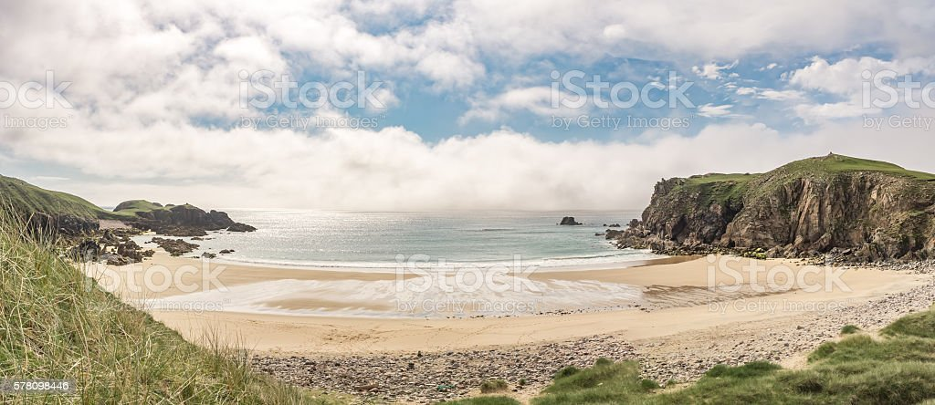 Mangersta Beach, The Isle of Lewis in Scotland stock photo