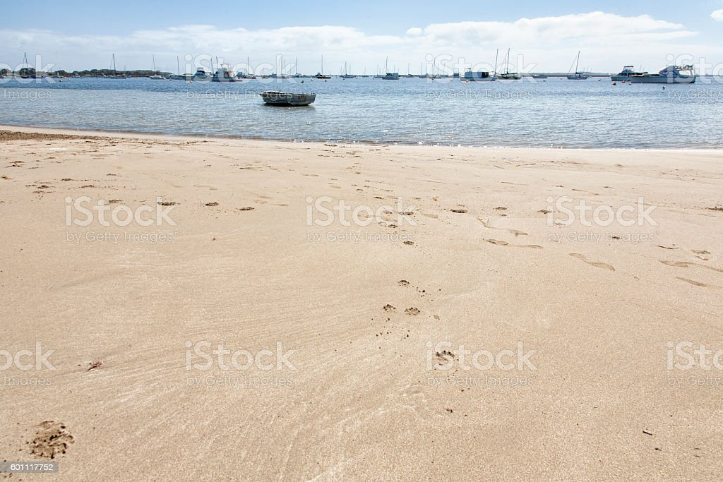 Mangles Bay stock photo