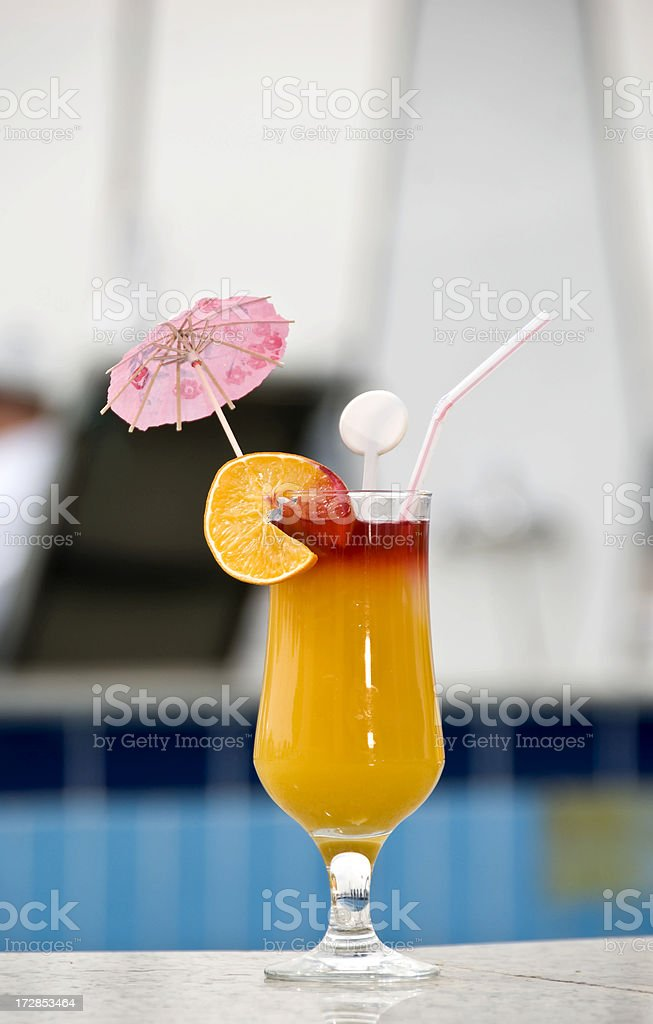 Mango cocktail royalty-free stock photo