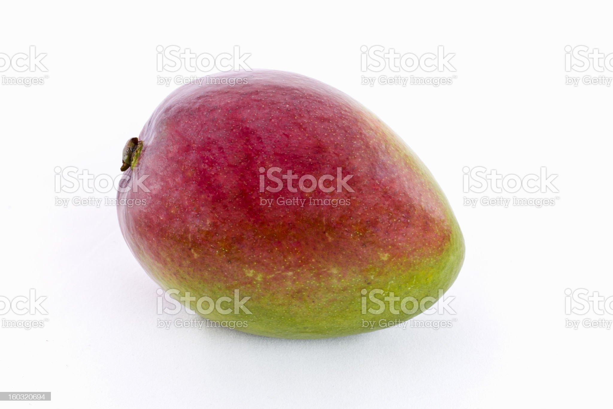 Mango fruit isolated on white background. royalty-free stock photo