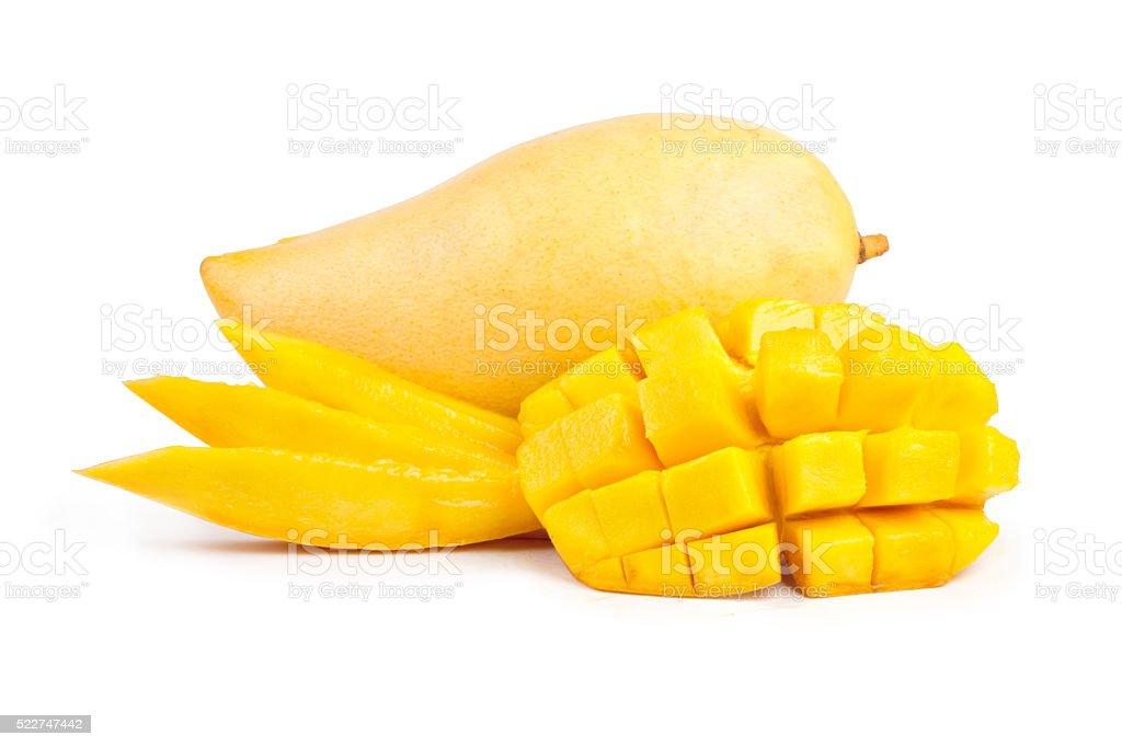 Mango isolated stock photo