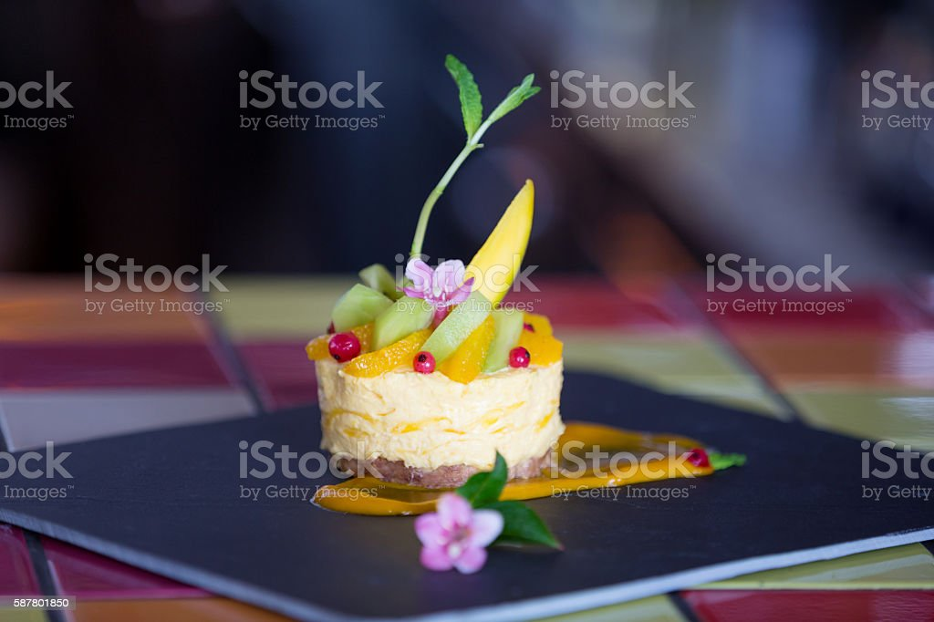 Mango mouse stock photo