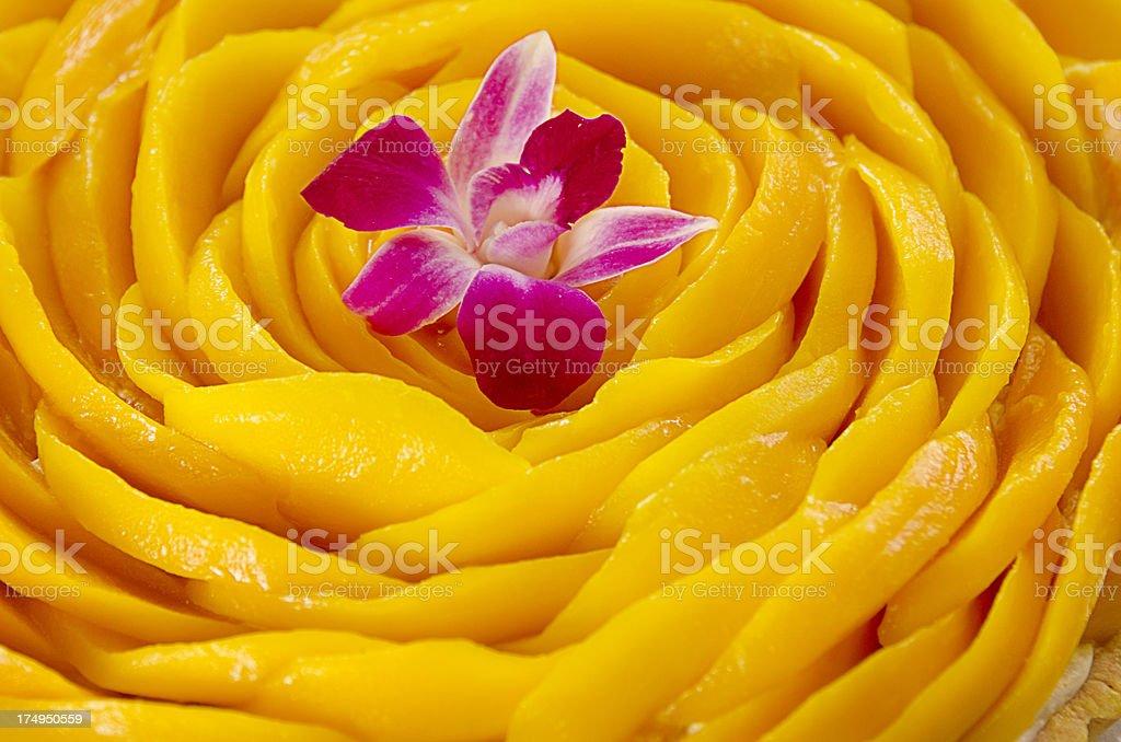 Mango pie royalty-free stock photo