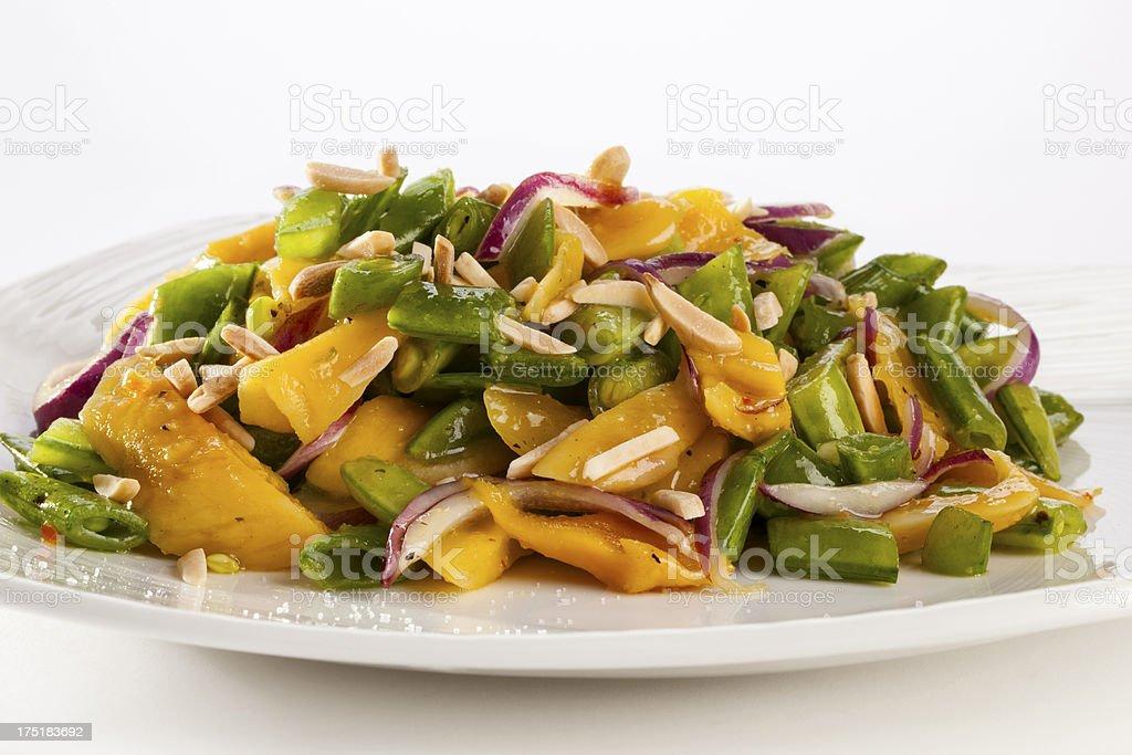 mango salad royalty-free stock photo