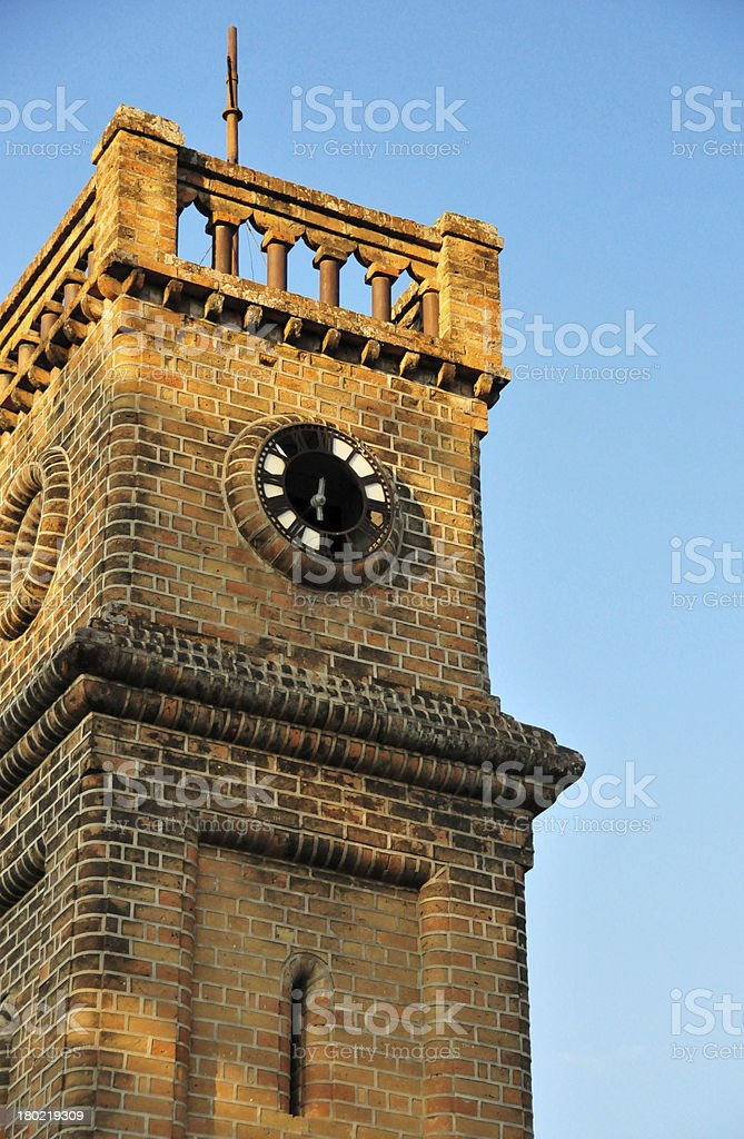 Mangochi, Malawi: Queen Victoria Memorial Tower royalty-free stock photo