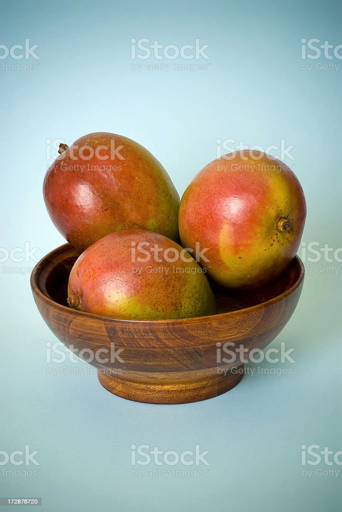 Mangoes royalty-free stock photo