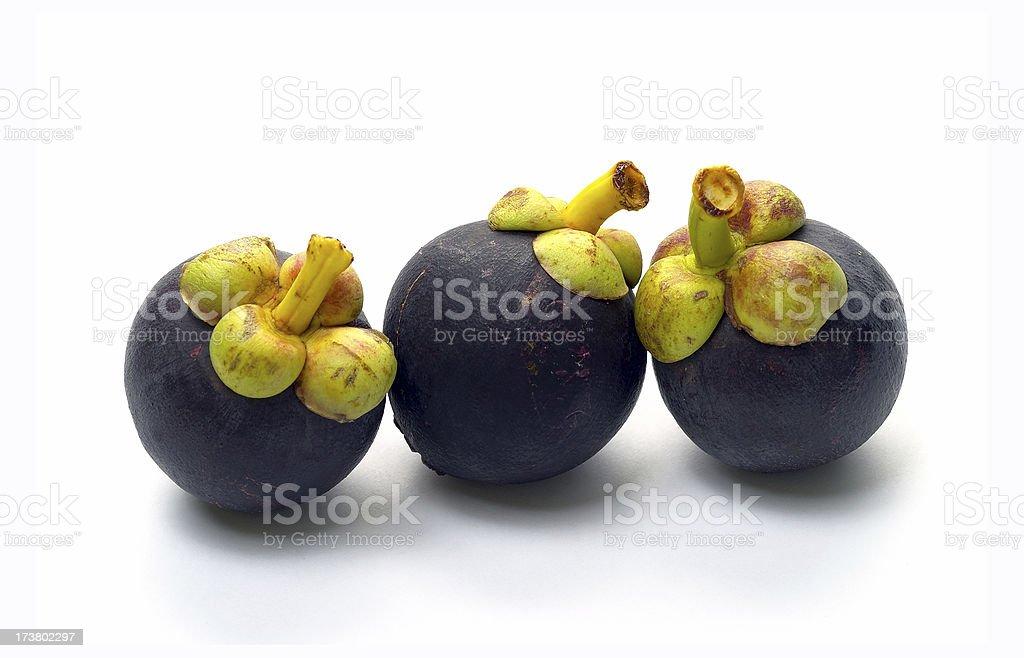 Mangostan - Exotic Fruit stock photo