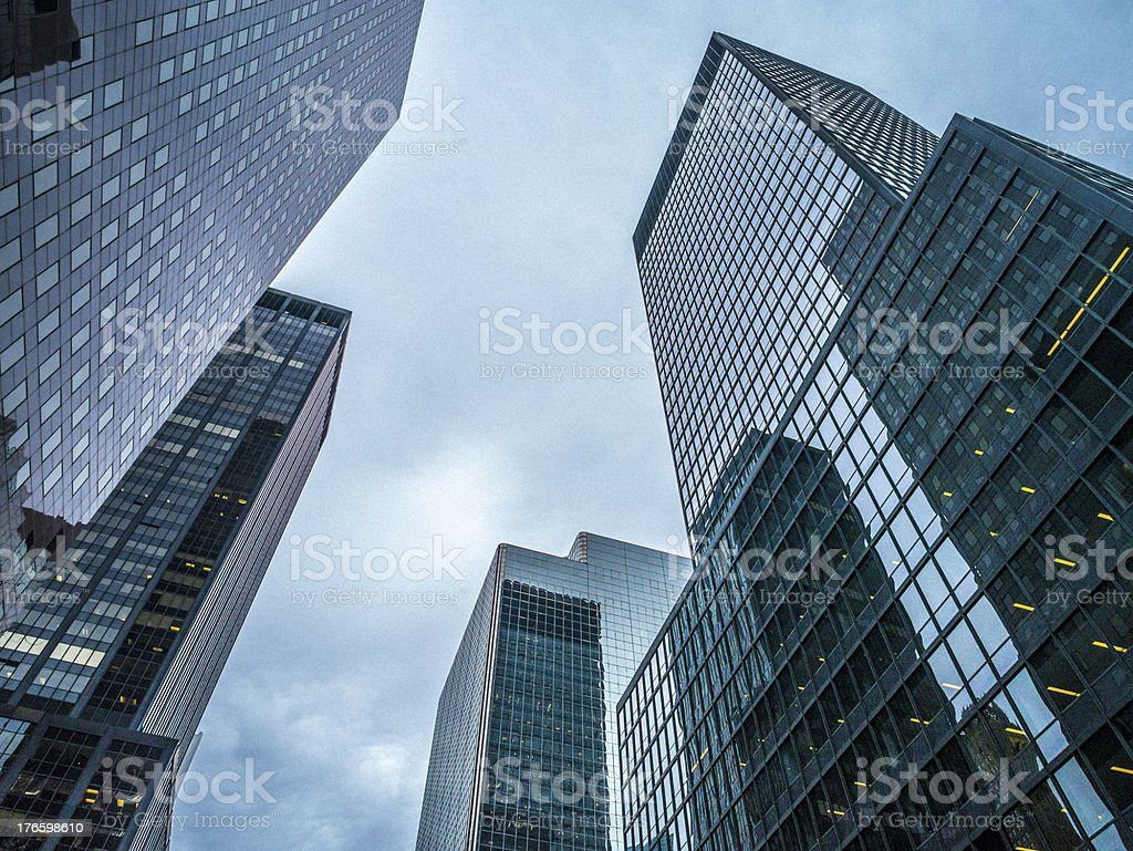 Manhattan Architecture royalty-free stock photo
